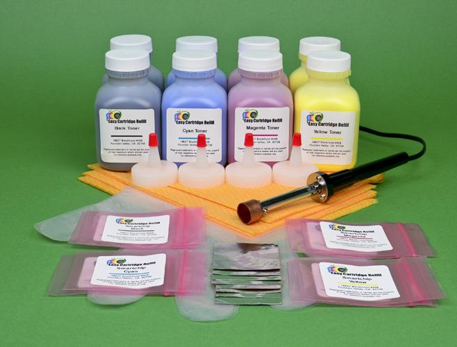 4 Color Toner Cartridge Set for Samsung CLP-320W CLP-320 CLP321 CLP-325 CLP-325W
